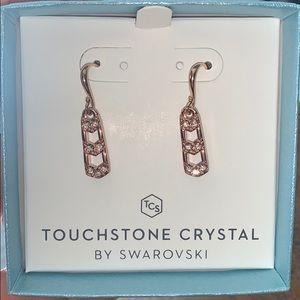 Touchstone Crystal Take Shape Earrings